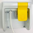 Wandhalterung gelb für Flaschen LEAK SAFE à 2 Liter
