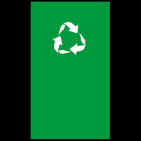 100% gerecyclede fles