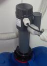 Sauglanze Gasdicht zwei Anschlüsse PRIMA OXY, PVC 500 mm, Dytex