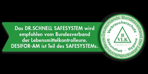 BVLK Empfehlung DESIFOR-AM SAFESYSTEM