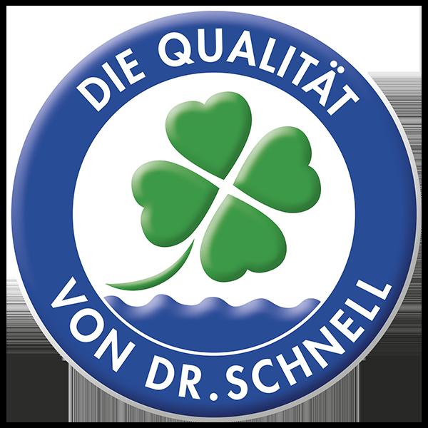 DR.SCHNELL Qualitätssiegel