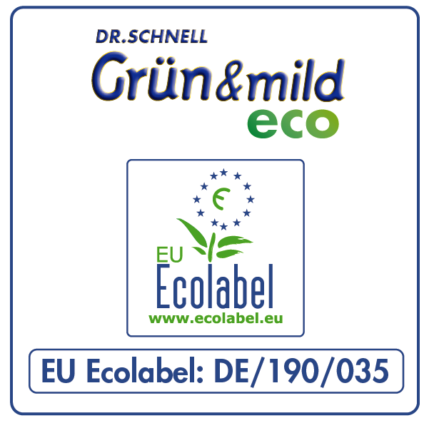 EU-Ecolabel GRÜN & MILD ECO
