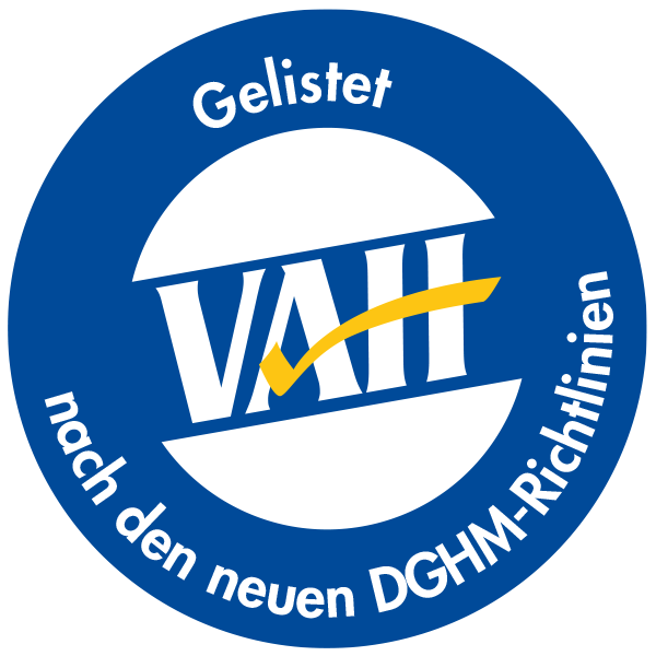 VAH-gelistet
