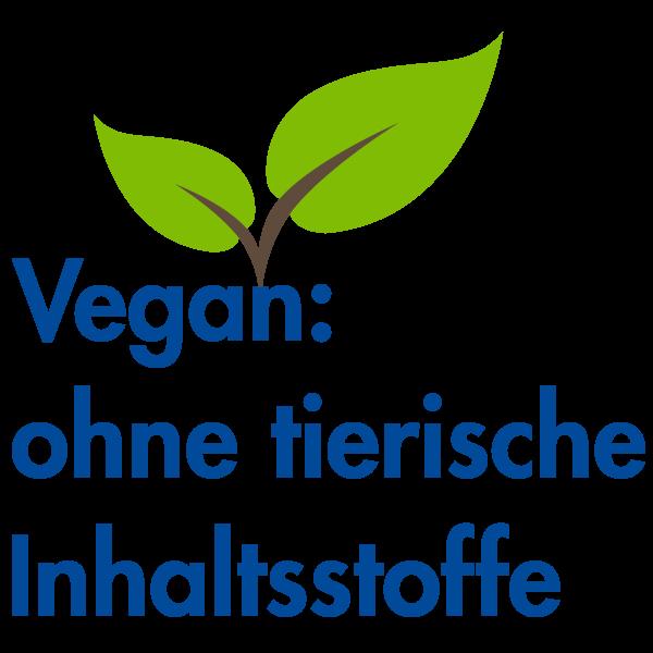 Vegan: ohne tierische Inhaltsstoffe